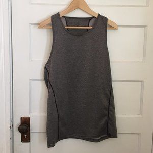 "Prana grey ""BREATHE"" top - size M"